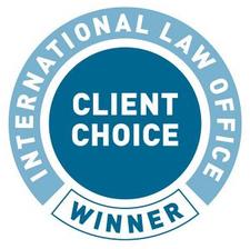 International Law Office (ILO) Client Choice Award