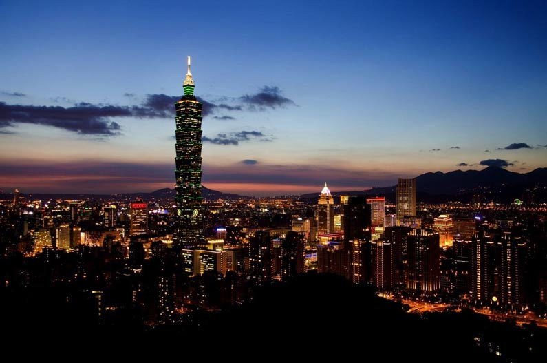 Taipei Nighttime Skyline