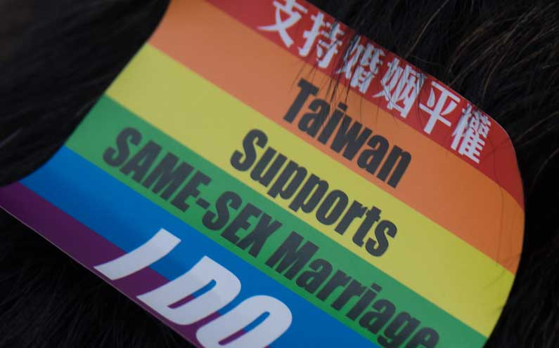Taiwan First Asian Country With Same Sex Marriage